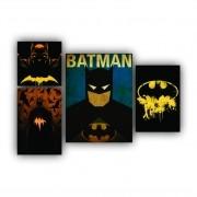 Kit Batman Masculino - 4 telas
