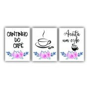 Kit Cantinho do Café - 3 telas