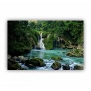 Quadro Cachoeira Natureza Paz - Tela Única