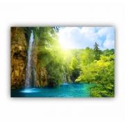 Quadro Cachoeira Raio de Sol - Tela Única