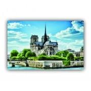 Quadro Catedral de Notre-Dame - Tela Única
