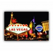 Quadro Las Vegas Noturno - Tela Única
