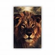 Quadro Lion Rei - Tela Única