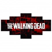 Quadro Mosaico The Walking Dead