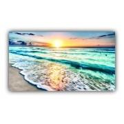 Quadro Praia Paraiso Natural Beach - Tela Única