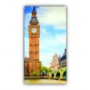 Quadro Relógio Londres - Tela Única