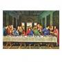 Quadro A Última Ceia Leonardo da Vinci- Tela Única