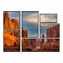 Kit de Quadros Grand Canyon Luxo  - Kit 6 telas