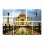 Kit Quadros Tah Mahal Luxo - Kit 6 telas
