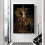 Quadro Deus Ressuscitou e Vivo Está - Tela Única