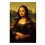 Quadro Mona Lisa de Leonardo da Vinci - Tela Única