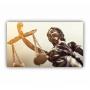 Quadro Advogado Direito Luxo - Tela Única
