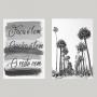 Quadro Árvore e Frase -  Kit 2 telas