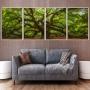 Quadro Árvore Majestosa - 4 Telas