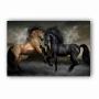 Quadro Cavalos Molhados Luxo - Tela Única