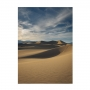Quadro Deserto Vertical Luxo - Tela Única