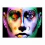Quadro Feminino Make up de Cores Impacto  - Tela Única