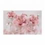 Quadro Flor Delicada Rosa Gold - Tela Única