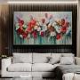 Quadro Flores Colors - Tela Única
