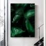 Quadro Folhas Natureza Luxo 3 - Tela Única
