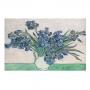 Quadro Írises Por Vincent Van Gogh - Tela Única