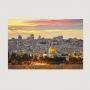 Quadro Jerusalém - Tela Única