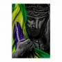 Quadro Jesus Sara o Brasil - Tela Única