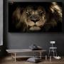 Quadro Leão Furioso - Tela Única