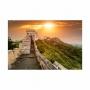 Quadro Muralhas da China Paisagem - Tela Única