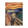 Quadro O Grito de Edvard Munch - Tela Única