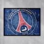 Quadro Paris Saint Germain  - Tela Única