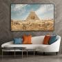Quadro Pirâmides do Egito - Tela Única