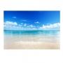 Quadro Praia Águas Cristalinas - Tela Única
