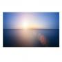 Quadro Praia Sunset Horizonte - Tela Única