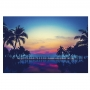 Quadro Praia Sunset - Tela Única