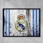 Quadro Real Madrid  - Tela Única