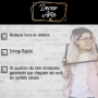 Quadro Signo Aquário Preto e Dourado - Tela Única
