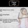 Quadro Signo Câncer Preto e Dourado - Tela Única