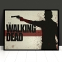 Quadro The Walking Dead Moderno - Tela Única