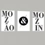 Quadros Mozão e Mozin - Kit 3 Telas
