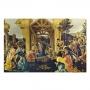 The Adoration of The Kings de Sandro Botticelli - Tela Única