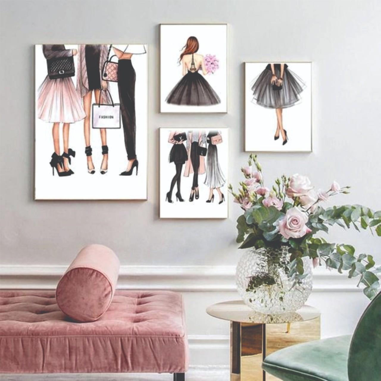 Kit Moda Fashion Feminino Delicado - 4 telas