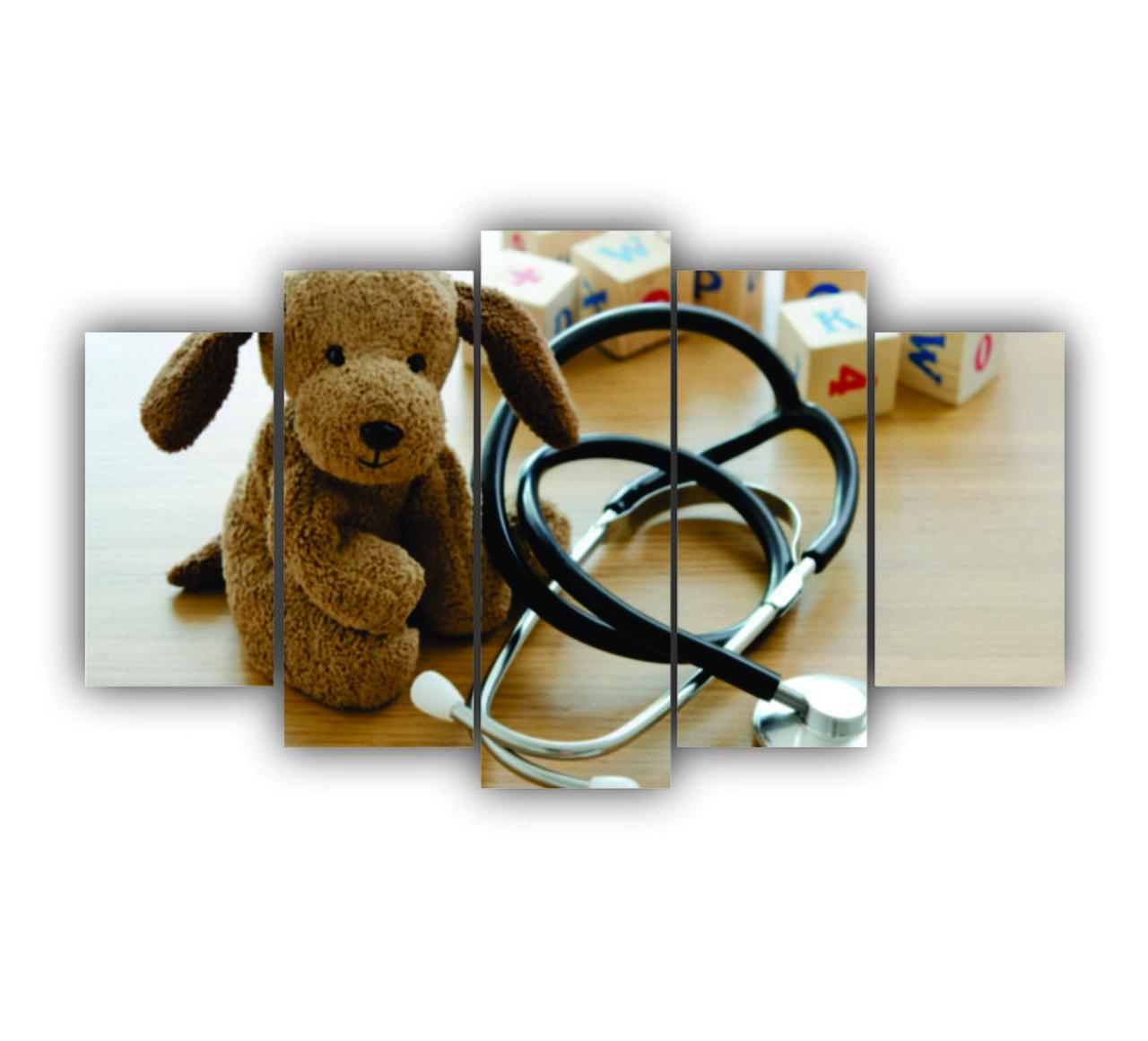 Mosaico Pediatria - 5 Telas