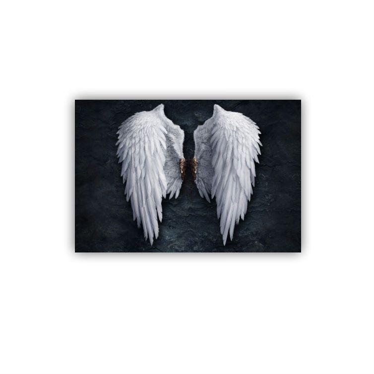 Quadro Asas Lucifer - Tela Única