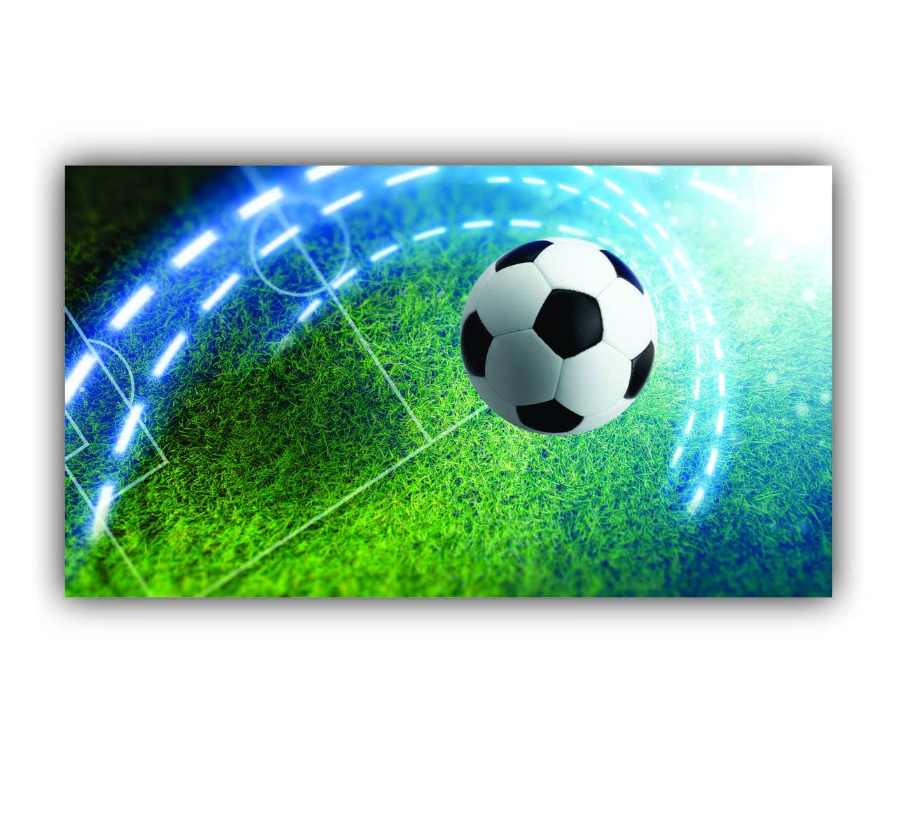 Quadro Decorativo Esportivo Futebol - Tela Única