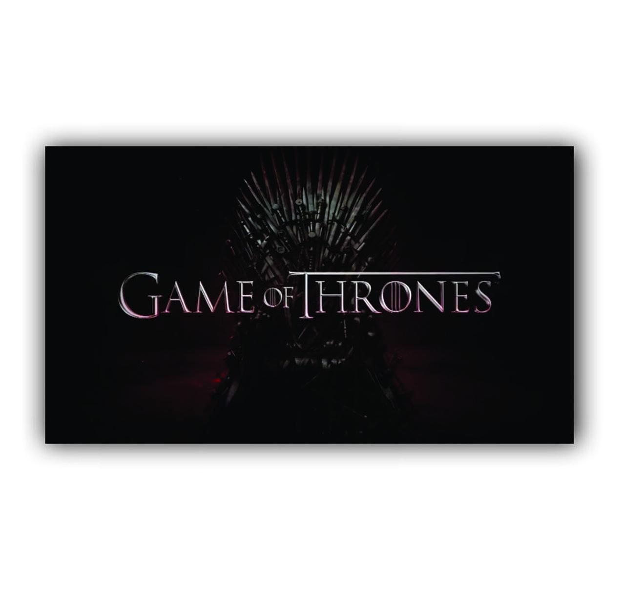 Quadro Game Of Thrones - Tela Única