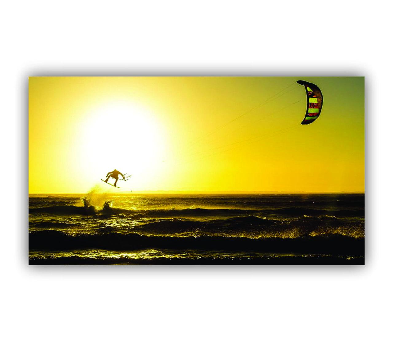 Quadro Kite Surf Estilo de Vida - Tela Única