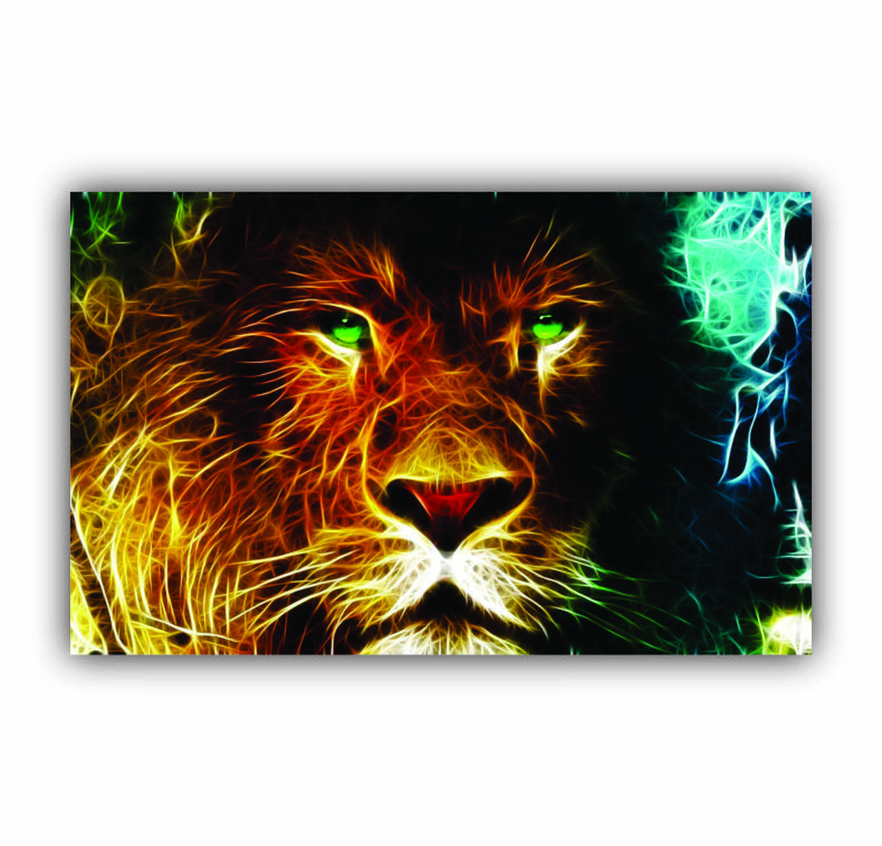 Quadro Leão Da Tribo de Judá Rei - Tela Única