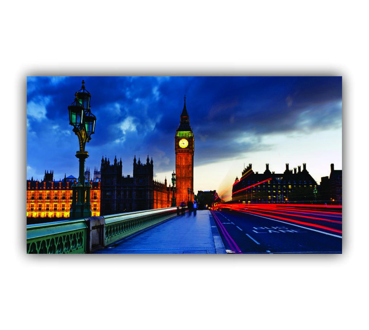 Quadro Londres Movimento Moderno - Tela Única