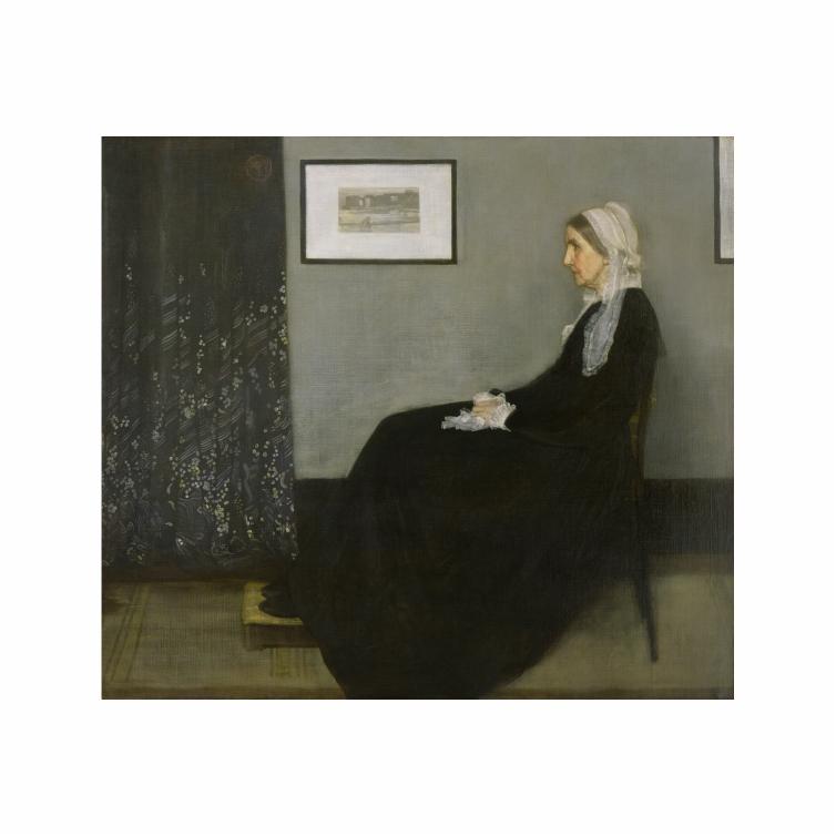 Quadro  Mãe de Whistler - Tela Única